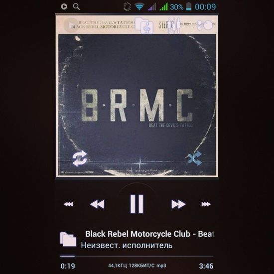 BRMC Black Rebel Motorcycle club beat the devils tattoo poweramp music