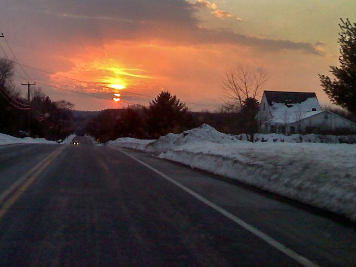 Sunset Sun Dog