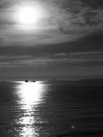 Monochrome Sunset