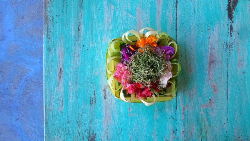 Balinese offering Bali Colors Offering Jeanmart Joseph Jeanmart Verybalitrip Very Bali Trip