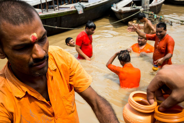 Varanasi, 2016 India Life People Street Street Photography Streetphoto_color Varanasi Varanasi, India Ganges, Indian Lifestyle And Culture, Bathing In The Ganges,