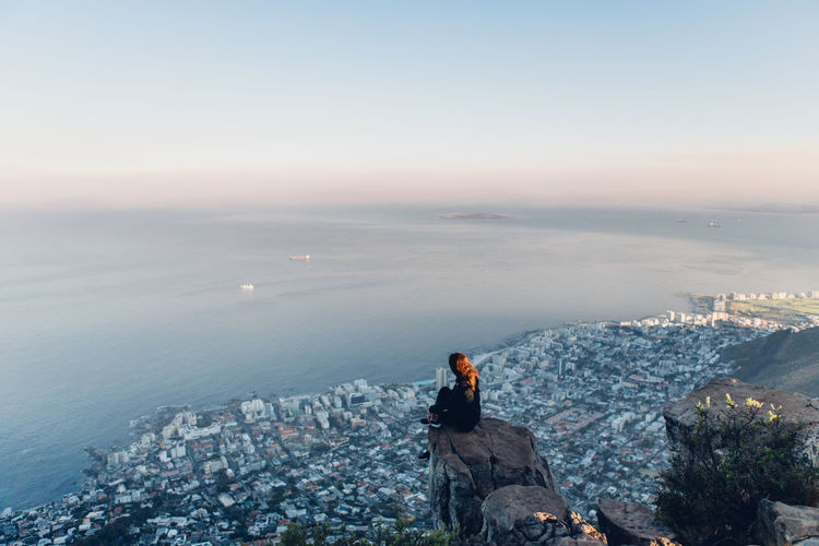 Cape Town City Cityscape Friends Fun Lions Head Traveling Trip View Wanderlust Woman Adventure Africa Capetown Girl Girls Hike Lionshead Mountain Nature Outdoors Southafrica Sunrise Women Fresh On Market 2017