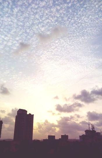 My Best Photo 2015 Edmfamily Evening Sun Sky And City Evening Sky Mumbai Happy People Nature