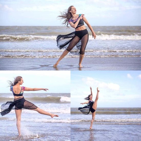 Dancer Choreographer  Showgirl Musicaltheatre Stage Ballet Photography BookThisGirlShesAwesome Ballet Dancer Contemporary Dance Sea Ocean Ocean Waves