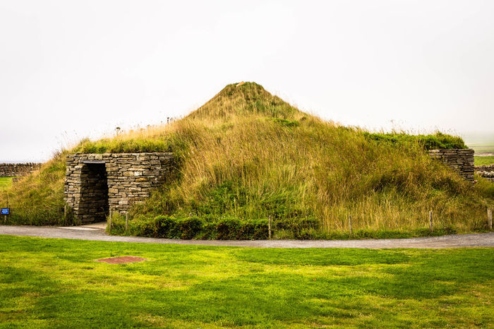 Grass Grass History History Architecture House Stone Stone Material Stoneage