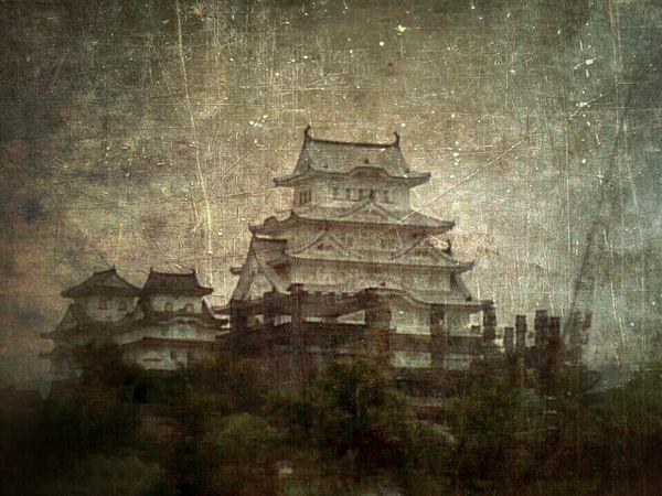 Culture Of Japan Landscape The Maximals (more Edit Juxt MAX It) Architecture Beatiful Japanesque EyeEm Best Shots EyeEm Best Edits EyeEm Best Shots - Black + White Melancholic Landscapes
