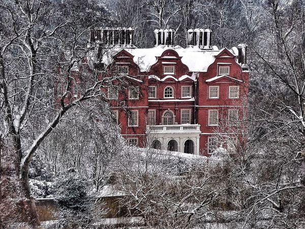 Kew Palace Kew Gardens Snow Royal Palace Architecture Artisan Style Red Brick Red Brick Building Snow ❄ Snowscene London LONDON❤