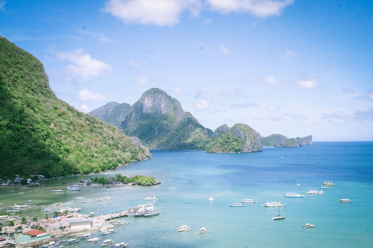 Beauty In Nature Beautiful Nature Feel The Journey Sky And Clouds Nature Nature_collection Wanderlust Vacations Sea And Sky Beach Mountain Elnido