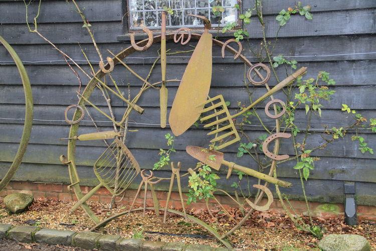 Flatford Mill Modern Art Rustic Rusty