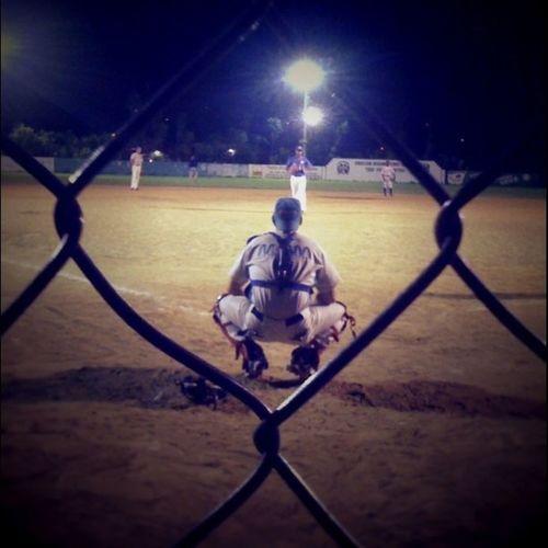 Softball Throughthefence