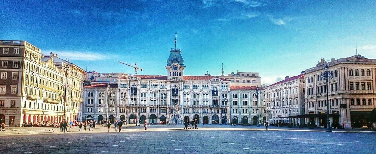 Trieste.- Piazza dell'unità Trieste Piazza Unità Italy Beautifulsquare Square