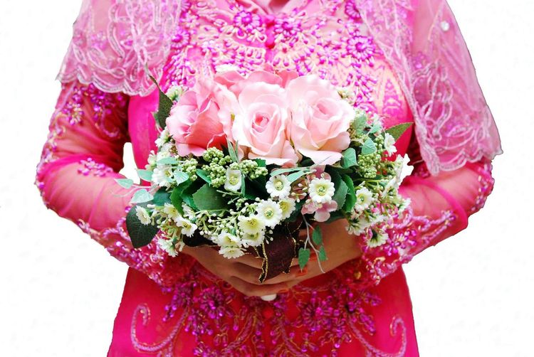 Flower Wedding Colour Woman Anniversary Showcase July