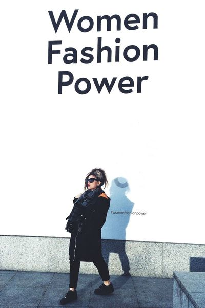 Wimmin. London Fashion Design Hanging Out