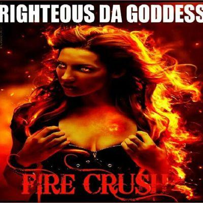 "NEW TRACK ""FIRE CRUSH"" now on Soundcloud and Youtube Righteousdagoddess Rdgtakeova rdg2013 firecrush santigold"