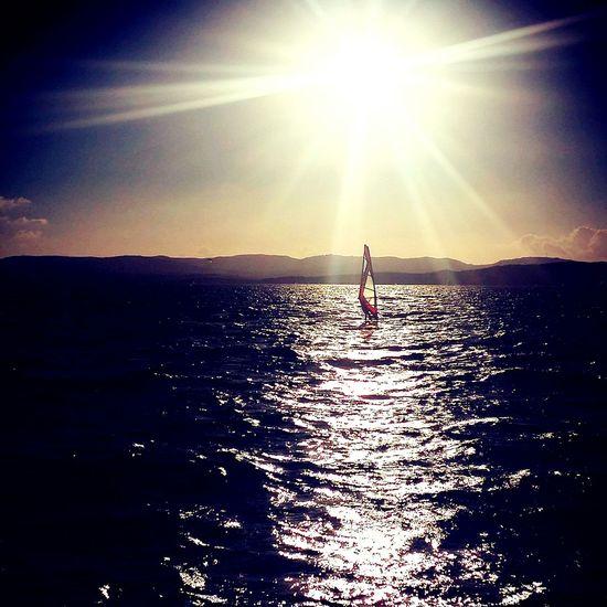 Isoladeigabbiani Sardinia,italy Windsurf Competition EyeEm Gallery Riflessi Sole...☀ Eym Em Best Edits