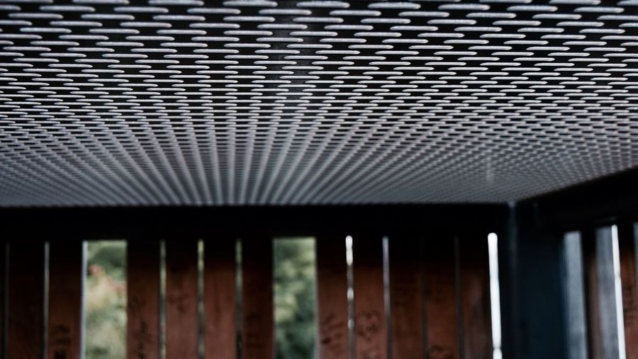 -Grate Expectations- Grate Pattern Indoors  Roof No People Close-up Architecture Day Corrugated Iron