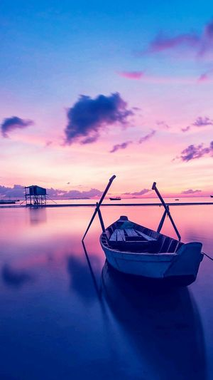 Sunset Nautical Vessel Tranquility Sea Horizon Over Water Dawn Sky Nature Day Outdoors Blue Scenics No People Water Reflection Vacations City Travel Destinations Lasvegasbaby Lifestyles