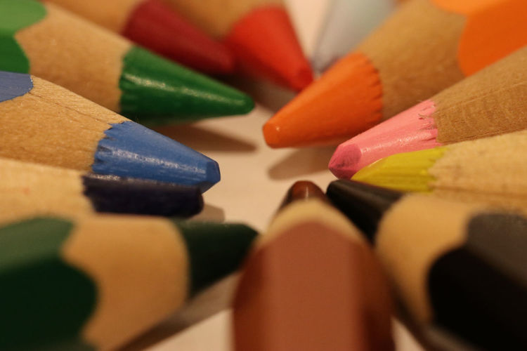 Colors Colours Eye Best Shot EyeEm Best Shots EyeEm Selects EyeEm Gallery Art And Craft Childhood Choice Close-up Color Color Photography Colored Pencil Colorful Colorpencils Colour Colourpencils Day Indoors  Large Group Of Objects Multi Colored No People Pencil Still Life Variation