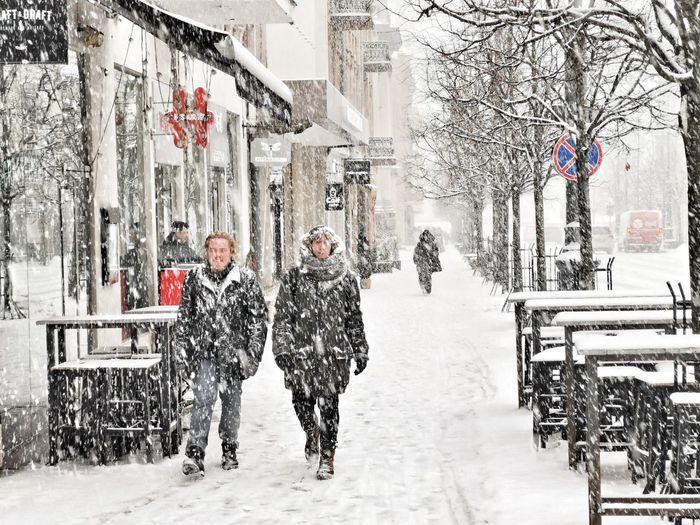 Snow in Vilnius