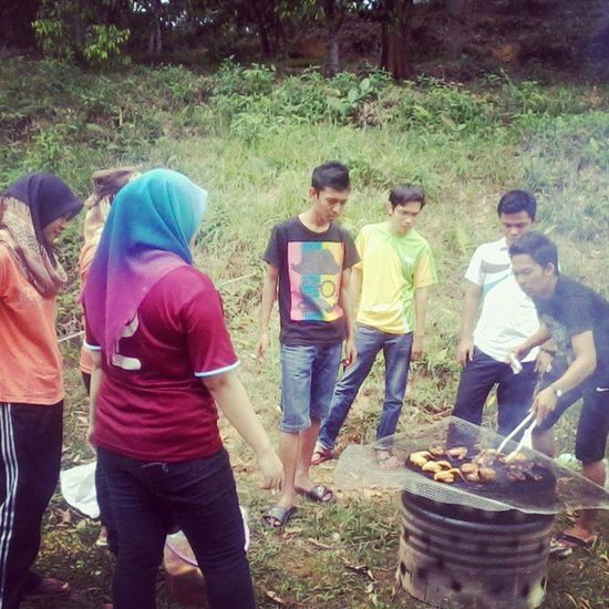 Hangout with them DPI Sem5 BBQ