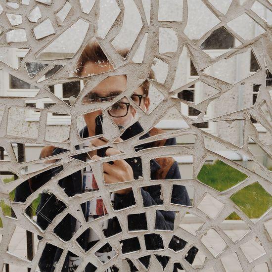 Broken selfie Selfie Mirror Broken Mobilephotography Architecture_collection Eyem Best Shots Eyem Best Edits