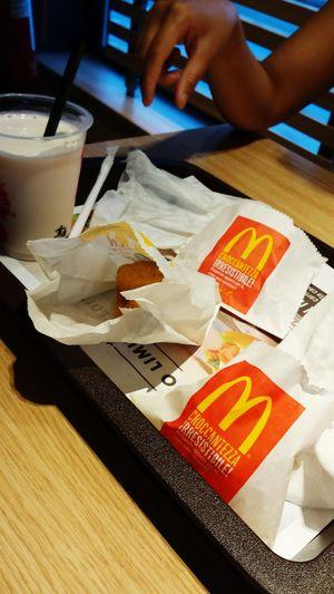 AtMcDonalds Nuggets 💞💞 Milkshake Hot Fries