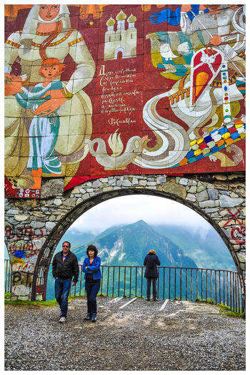 Travel Destinations Turistic Attractions Tredition Multi Colored Togetherness Men Water Women Graffiti Astrology Sign