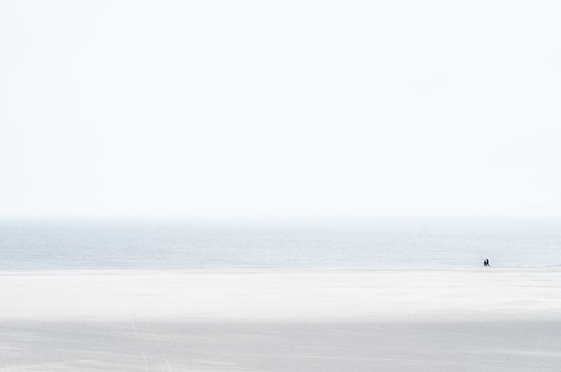 Emptiness Bart Van Dam Beach Emptiness Empty Fine Art Four Colors High Key Horizon Over Water Nature Outdoors People Sea Serene Serenity Sky Water Breathing Space