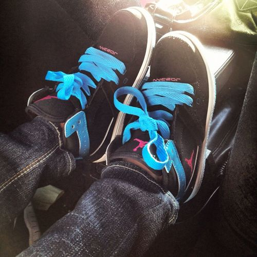 My Sis First J's I Got Her
