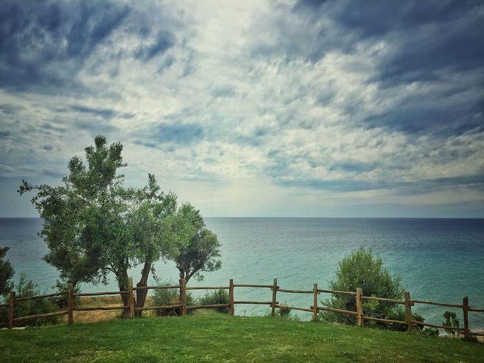 Before a rain Clouds And Sky Clouds Cloud Sky Blue Sky And Clouds Blue Sky Sea Sea And Sky Green Green Color Greece Nea Moudania