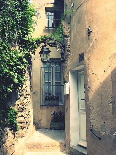 South Of France EyeEmNewHere Architecture Built Structure Building Exterior Building Door Entrance Day