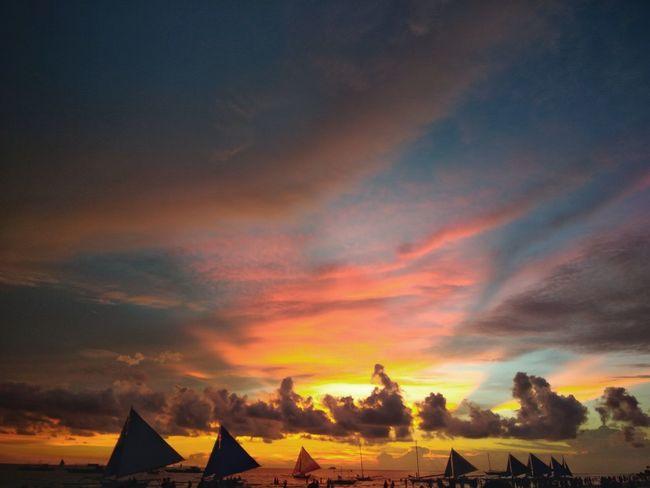 boracay island, Boracay Sunset Boracay Philippines Boracay Scenery