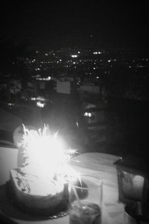 Celebrating My Birthday On The Top Of Athens Birthday Cake Original Experiences Summer Nights Birthday Candles 43 Golden Moments City Lights City View  Black And White Capture The Moment Showcase June Urban Exploration The Mix Up From My Point Of View We_love_athens Dark Food Stories Stories From The City Adventures In The City