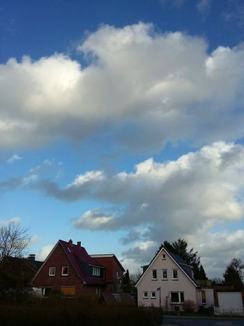 Clouds over Friesland. · Varel Germany Small Town Clouds And Sky Sky Winter Time Winter Day