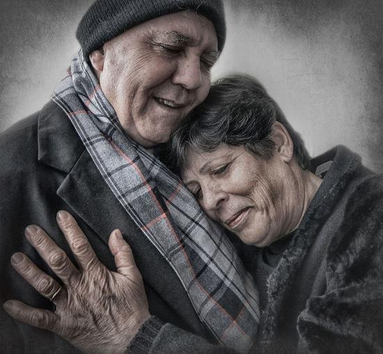 The old hug