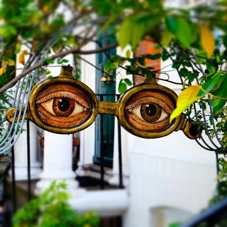 Art And Craft Arts Culture And Entertainment Creepy Design Face Mask Optical Opticians Still Life
