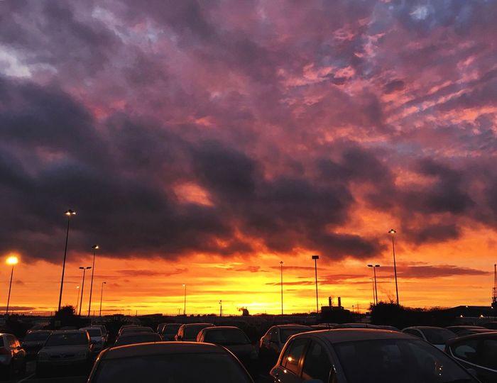 Shepherds delight Sunset South Southampton Southampton Docks Redskyatnight RedSky Warmweather Brightsky