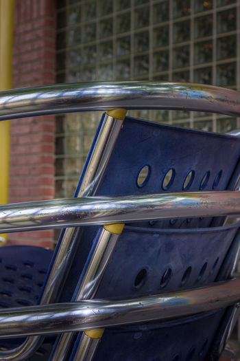 Stacked Architecture Building Exterior Chairs Close-up Metal No People Outdoors Stacked Worldwide Photowalk 2017