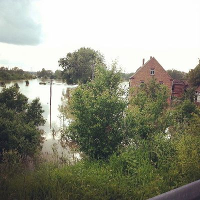 Hochwasser 2013 Hallesaalegermany Hallesaale