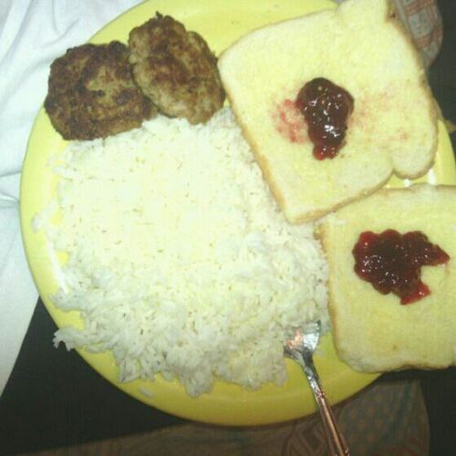 My Bae Got Upp && Cooked Me Breakfast This Morninq ! This Why I Do Him The Way I Do . <3 #Lovee
