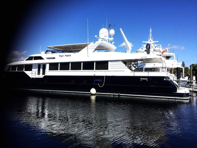 Yacht Truenorth Boating Luxury Water Reflections Taking Photos Dreams Miami 24ourLife Will Hefner Womansburg
