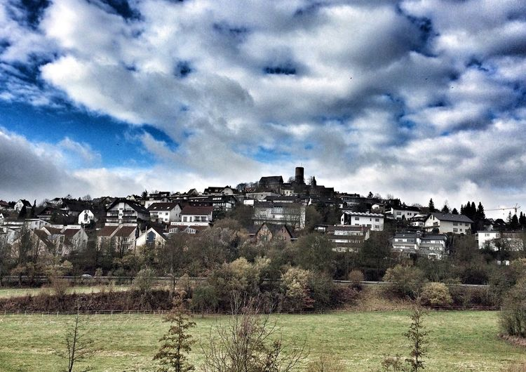 Hallo😊 wir sind nun auch dabei 😊 Wettenberg Burg Clouds And Sky Cloud Travel First Eyeem Photo