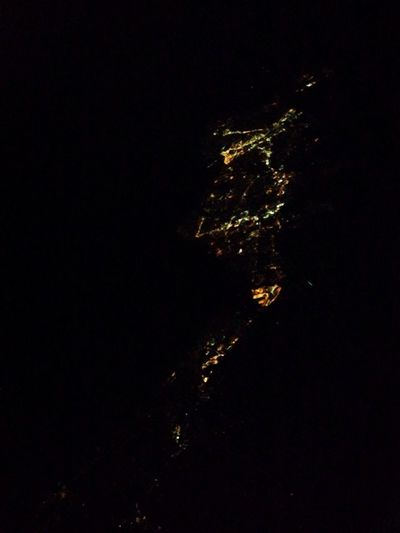 The lights of the California Coast Check This Out Travel On The Plane Night Lights