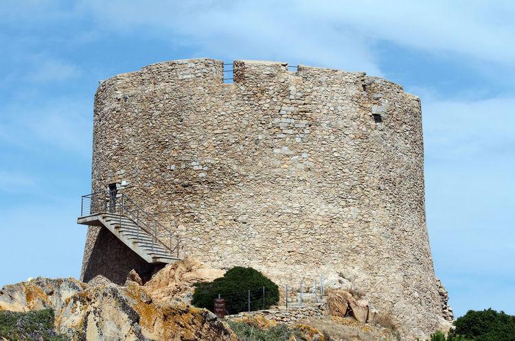 Holiday Santa Teresa Di Gallura Tourist Blue Sardinia Sea Tourism Spanish Tower Ancient Hystorical Hystorical Buildings Aragonese Art Longosardo No People Filippo II XVI Blue Sky Summer