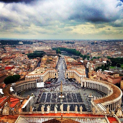 From the top | Vaticano Roma Italia SanPietro Basilica PapaFranciscus Eurotrip