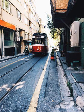 Tramway Kadıköy Moda Deniz Red Sea Istanbul Turkey Sommergefühle EyeEmNewHere