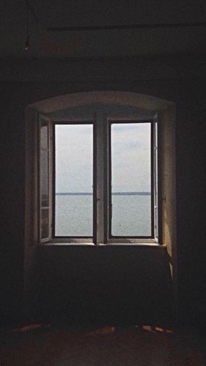 Window No People Sea And Sky Sea Duino Castle