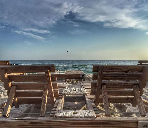 99 problems but the beach isn't one of them Panama City Beachphotography Seagulls And Sea Lounge Chair