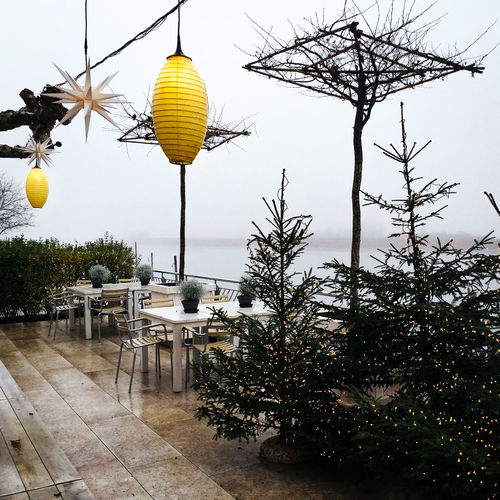 Lampions Outdoors Relaxing Moments Winter Xmas