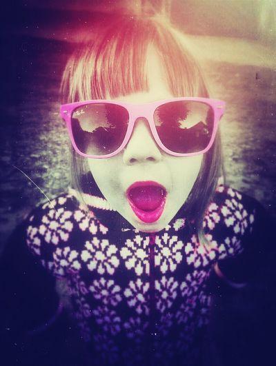 Малютка:* модница очки малышка